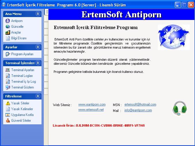 Antiporn Cafe Ekinox Computer