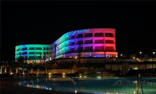 Krallara layık girnedeki Malpas Hotel