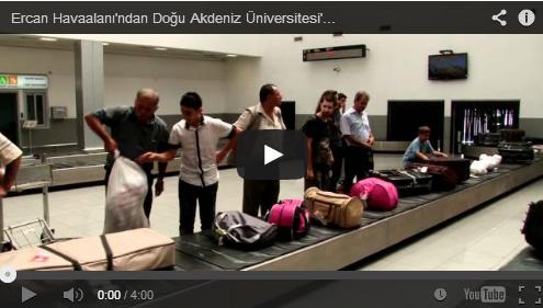 Ercan Havaalanı'ndan Doğu Akdeniz Üniversitesi'ne nasıl gidilir