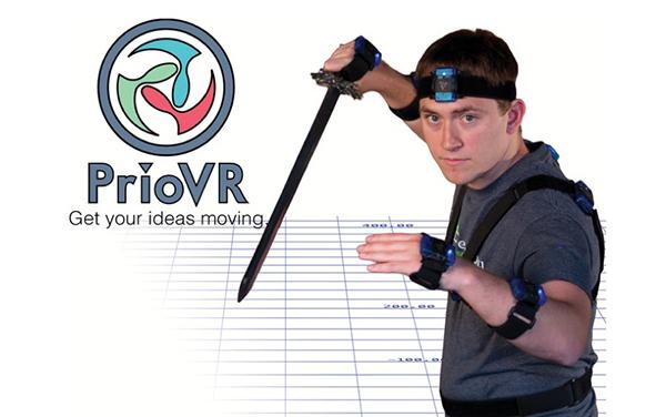 Vücudun aktif olarak yer aldığı yeni oyun: PrioVR