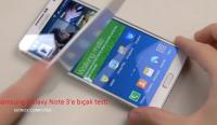 Samsung Galaxy Note 3'e bıçak testi
