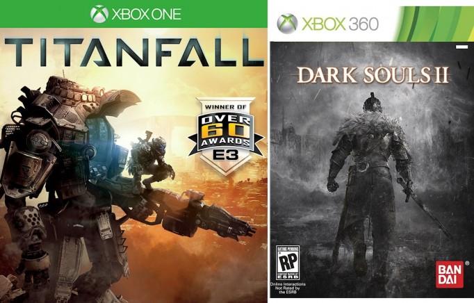 Titanfall ve Dark Souls 2 oyunları XBox konsollarına gelmiştir