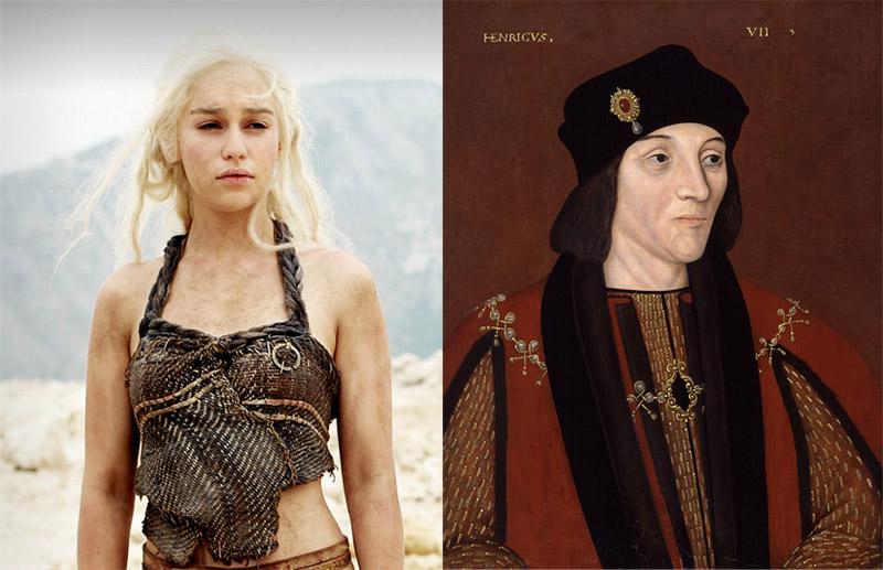 Game of Thrones karakterleri tarihte kime tekabül ediyor