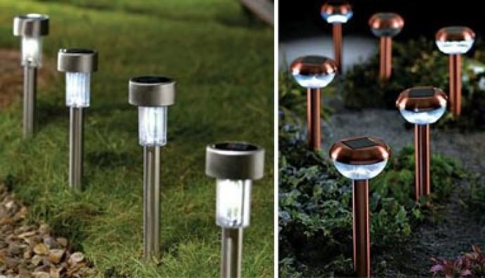 bahçe lambaları