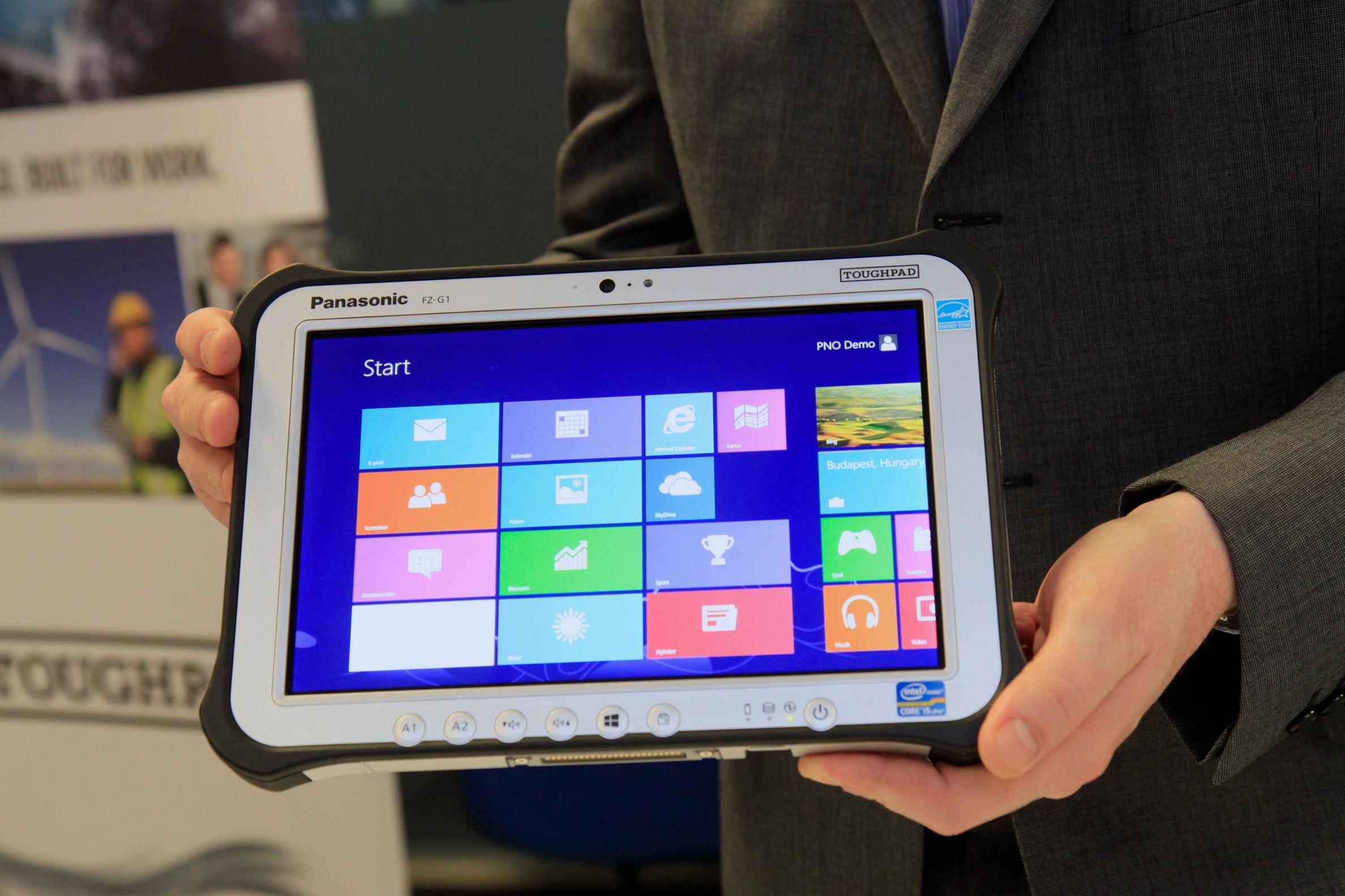 İlklerin adresi Panasonic Toughpad