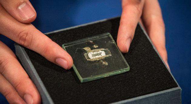 Dünyanın ilk mikroçipi satışa çıkıyor