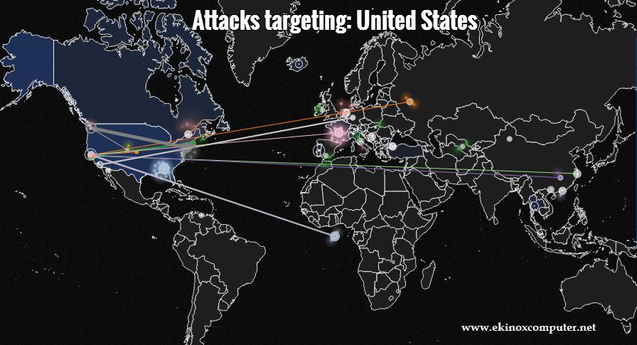 Siber Saldırıları Canlı İzleme