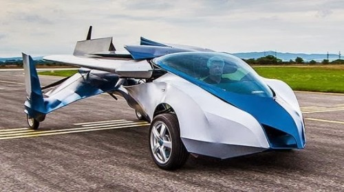 Taşımacılıkta dev teknoloji uçan araba