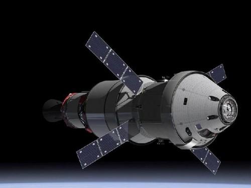Bir sanatçı tarafından Orion kapsülünün  benzeyeceği şekil.