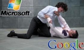 Google vs Microsoft!