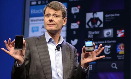 BlackBerry'ye Muhteşem CEO