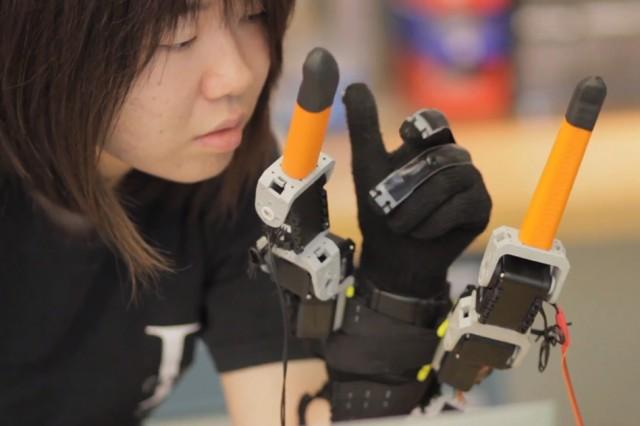 Robot Parmak Geliştirildi