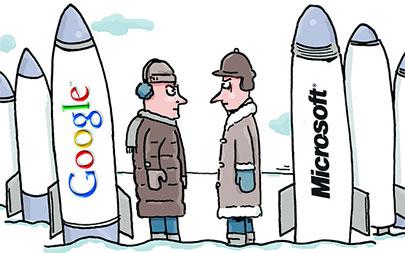 Microsoft Google'ı Yenmekte Kararlı