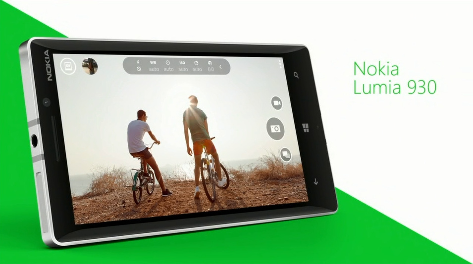 Lumia 1020'ye Veda, Lumia 930'a Merhaba