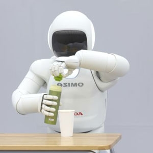 Son Haliyle Robot ASIMO