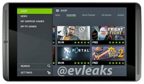 Nvidia Shield tabletin tasarımı ile ilgi görmesi bekleniyor