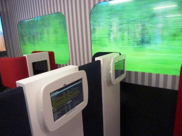Trenlerde kullanılması planlanan ekranlar