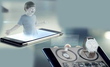 Takee 'in ilk Holografik telefonu yolda !