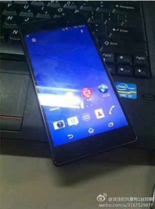 Sony Xperia Z3'ün ilk görüntüleri