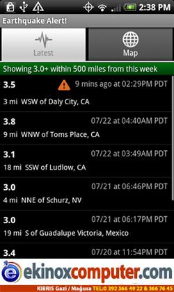 Earthquake Alert!